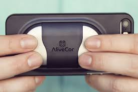 """London AF centre - AliveCor """"two lead"""" heart monitor"""